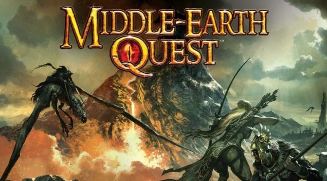 Games Board Middle Earth Quest 2011 A