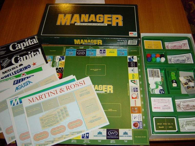 Manager - Contenuto della scatola