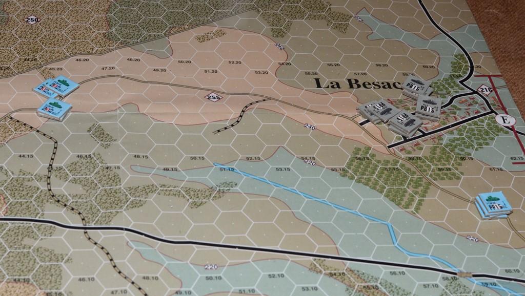 Il 4°BCC tiene in scacco i Panzer tedeschi